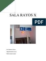 Documento de Sala de Rayos x Importante