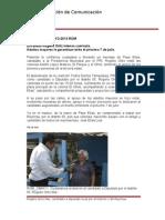 29-05-2013 Boletín 011 Encabeza Rogelio Ortiz intensa caminata.
