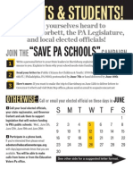 Save Pa Schools Flyer Final