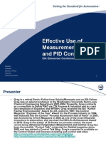 ISA Edmonton 2012 Effective Use Measurements PID