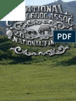 NCA Event Book 2013 Finals Event Book