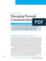 managing personsl communications