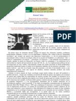 Bourdieu, P -Trayectoria de un sociólogo