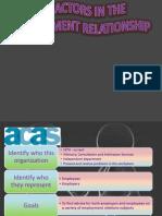 comparison of  CIPD, ACAS & Unite the union