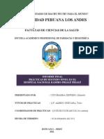 Informe Del Internado Farmaceutico