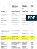 ELENCO CONVENZIONI DI  TIROCINIO AGGIORNATO AL 4 APRILE 2013.xls