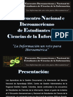 Pre-presentacion VI EINECI