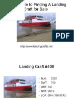 Landing Crafts