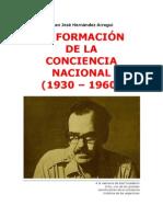 LA FORMACIÓN DE LA CONCIENCIA NACIONAL (1930 – 1960)- J.J.HERNANDEZ ARREGUI