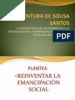 Boaventura de Sousa Santos y Gudynas