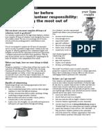 Student Volunteering Tips - PDSB