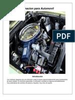 Manual de Afinacion Para Su Automovil