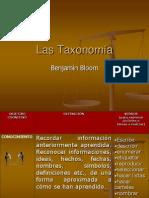 Taxonomía de Benjamín Bloom 4