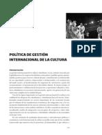 17 Politica Gestion Internacional Cultura
