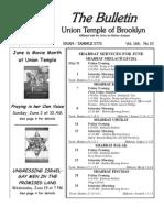UT Bulletin June 2013