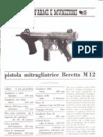 Beretta M12 Pistola Mitragliatrice