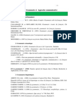 Biblio Grammaire Et Approche Communicative