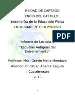 1 informe de lectura Entrenamiento Deportivo listo.doc