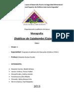 Investigacion de Diablitos de Cajabamba