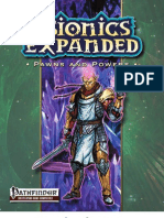Psionics Expanded - Pawns and Powers