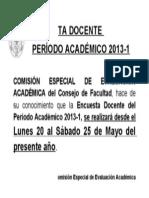 Comunicado Encuesta112345678901