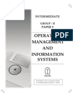 Operation Management Information System