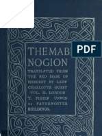 The Mabinogion, Transl From the Red Book of Hergest; VOL 2 - Lady Charlotte Guest (1902)