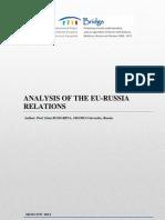Bridge-Analysis of the Eu-Russia Relations