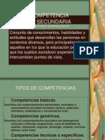7.- Competencis en Secundaria