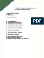 CRIETRIOS DE DISEÑO ARQUITECTONICO