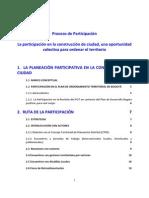 Proceso Participacion POT