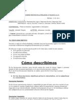 Guia Texto Descriptivo 7mos 8vos