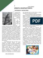 PROPUESTA CONSTRUCTIVISTA