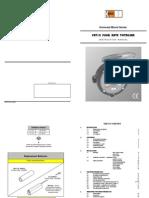 (DOM) Kobold FRT12 Manual