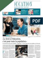 Cahier Special Le Devoir - 24 Heures