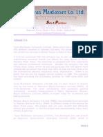 ILyas Mudasser Company Profile