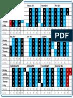 TDC Wheelie Calendar 2013 RNDA