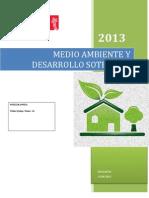 Medio Ambiente y Desarrollo Sosteible 2222