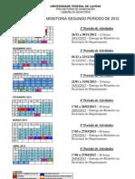 Calendario de Monitoria 2012-2 (1)