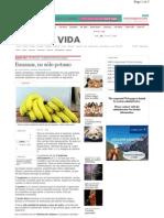 Bananas y Salud