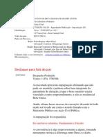Juiza Critica a Bancoop qualificandoa de CARA DE PAU