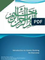 Islamic Banking Orientation by Ehsan Waquar Ahmad