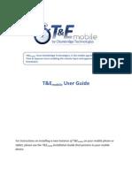 T&Emobile User Guide