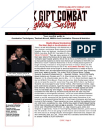 Dark Gift Combat Reality Based Self Defense & Combatives issue 6