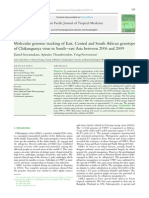 Molecular Genome Tracking of Chikungunya Virus