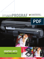 Product Brochure on Canon imagePROGRAF iPF8300, iPF6350, & iPF6300