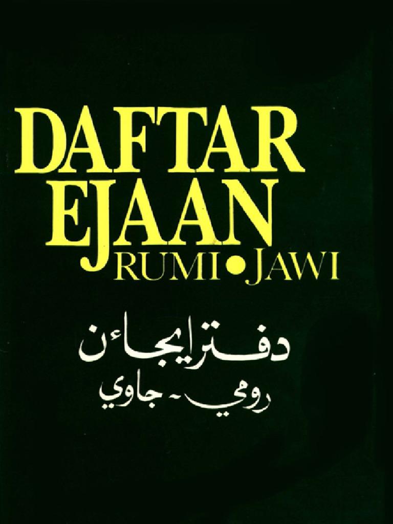Citaten Rumi Jawi : Rumi jawi