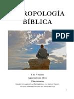 ANTROPOLOGA BIBLICA