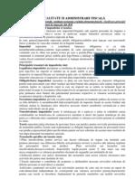 Fiscalitate Si Administrare Fiscala.[Conspecte.md]