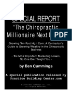 Chiropractic Marketing Millionaire Next Door